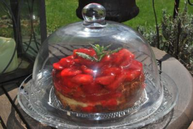 Strawberry-Cheesecake - Rezept