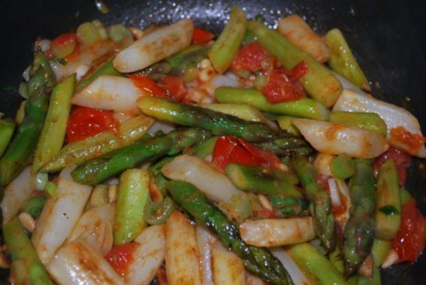 Warmer Röstkartoffel-Spargel-Salat - Rezept - Bild Nr. 5