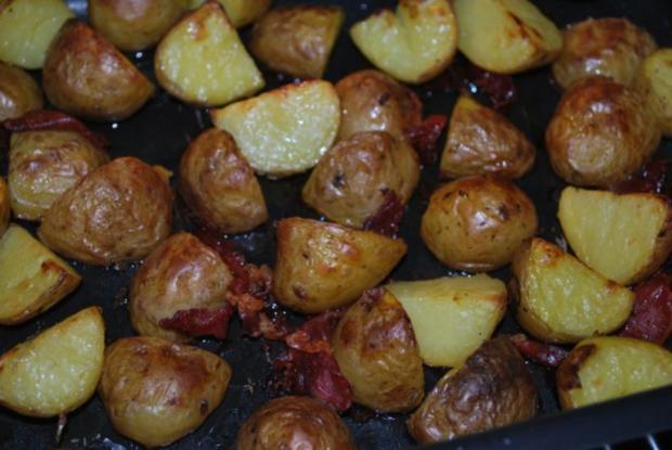 Warmer Röstkartoffel-Spargel-Salat - Rezept - Bild Nr. 2