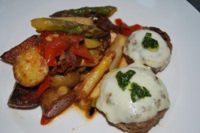 Warmer Röstkartoffel-Spargel-Salat - Rezept