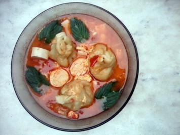 Dim Sum   /   Dumpling Soup - Rezept