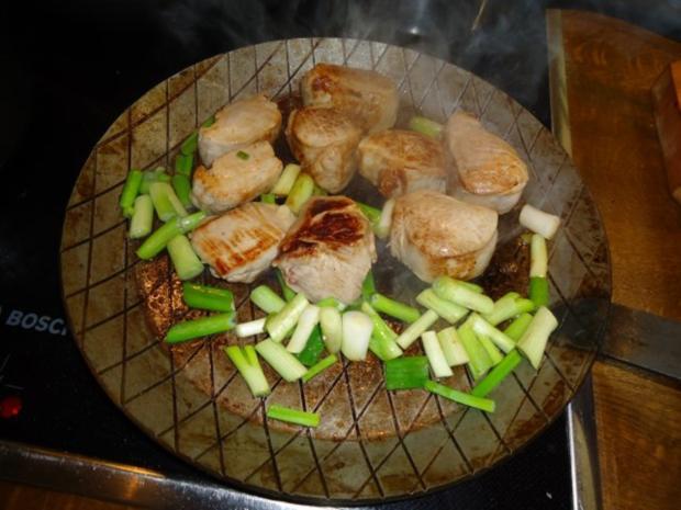 Filet vom Schwein mit Champignon-Bratkartoffeln - Rezept - Bild Nr. 4