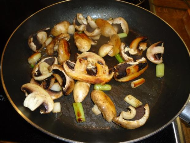 Filet vom Schwein mit Champignon-Bratkartoffeln - Rezept - Bild Nr. 5