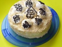 Schneeball-Torte - Rezept