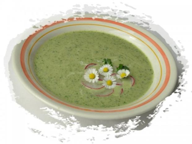 ~✿~  Radieschensuppe mit Gänseblümchen  ~✿~ - Rezept - Bild Nr. 10