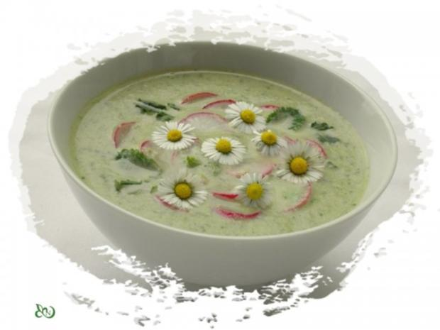 ~✿~  Radieschensuppe mit Gänseblümchen  ~✿~ - Rezept - Bild Nr. 11