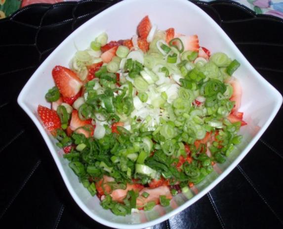 fruchtiger Spargelsalat - Rezept - Bild Nr. 11