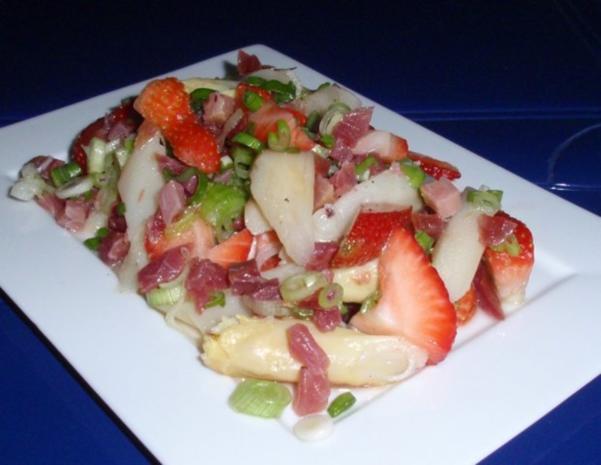 fruchtiger Spargelsalat - Rezept - Bild Nr. 14