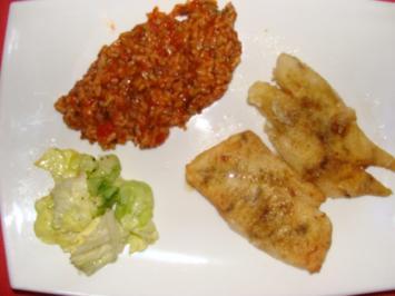 Rezept: Beilagen : Ahab's Risotto mit Tomaten und Sardinen