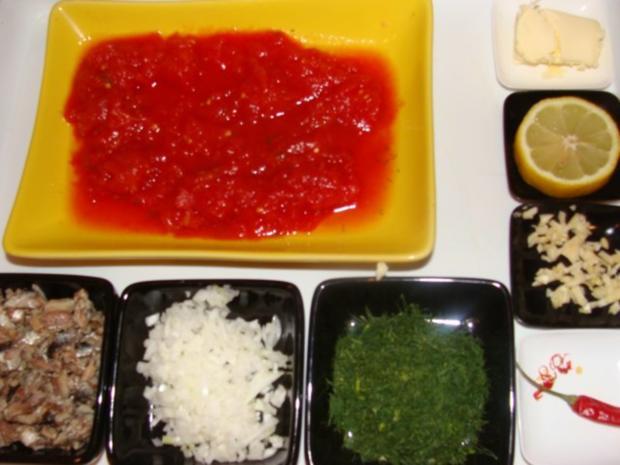 Beilagen : Ahab's Risotto mit Tomaten und Sardinen - Rezept - Bild Nr. 2