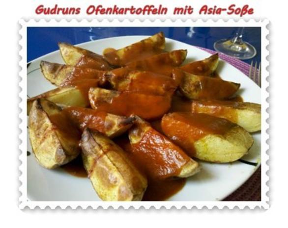 Kartoffeln: Ofenkartoffeln mit Asia-Soße - Rezept