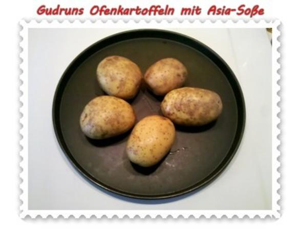 Kartoffeln: Ofenkartoffeln mit Asia-Soße - Rezept - Bild Nr. 2