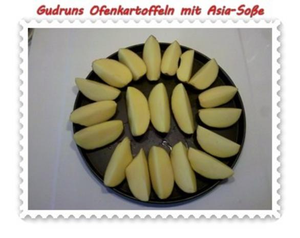 Kartoffeln: Ofenkartoffeln mit Asia-Soße - Rezept - Bild Nr. 3