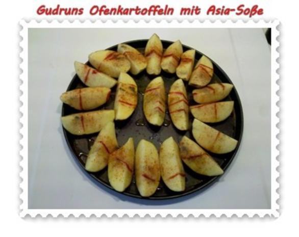 Kartoffeln: Ofenkartoffeln mit Asia-Soße - Rezept - Bild Nr. 5