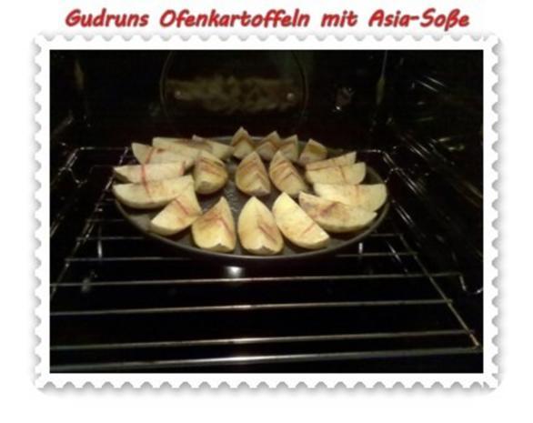 Kartoffeln: Ofenkartoffeln mit Asia-Soße - Rezept - Bild Nr. 8