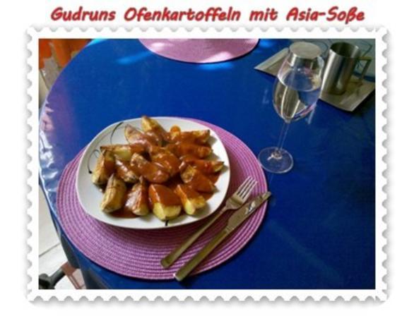 Kartoffeln: Ofenkartoffeln mit Asia-Soße - Rezept - Bild Nr. 11