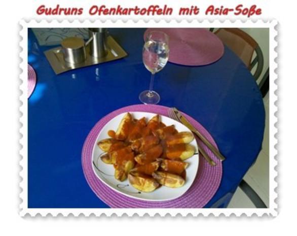 Kartoffeln: Ofenkartoffeln mit Asia-Soße - Rezept - Bild Nr. 12