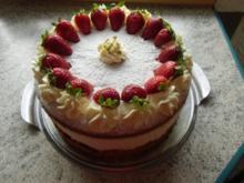 ❤ Käsesahne -Torte ❤ - Rezept