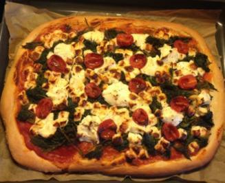 Brennnessel-Pizza - Rezept