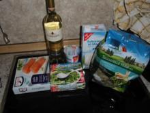 Nudeln mit Lachs und Spinat - Rezept