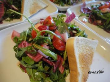 Erdbeer - Caprese - Salat - Rezept