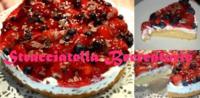 Stracciatella - Beerentorte - Rezept