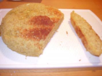 Rezept: Schnelles Toast-Brötchen low carb