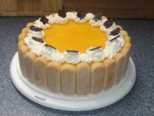 Pfirsich-Joghurt-Torte - Rezept