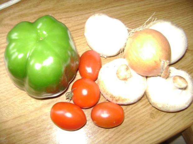 Champigon - Paprika - Soja Gehacktes - vegetarisch - Rezept - Bild Nr. 2