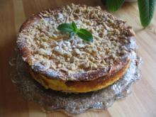 Streusel - Apfel -  Käsekuchen - Rezept
