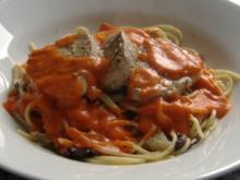 Spaghetti mit frischem Thunfisch und Fenchel - Rezept