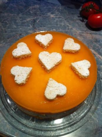 Marakuja Joghurt Torte - Rezept