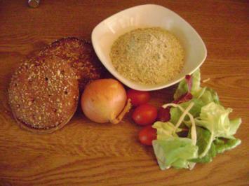 Rezept: Dinkel Grünkern -  Burger