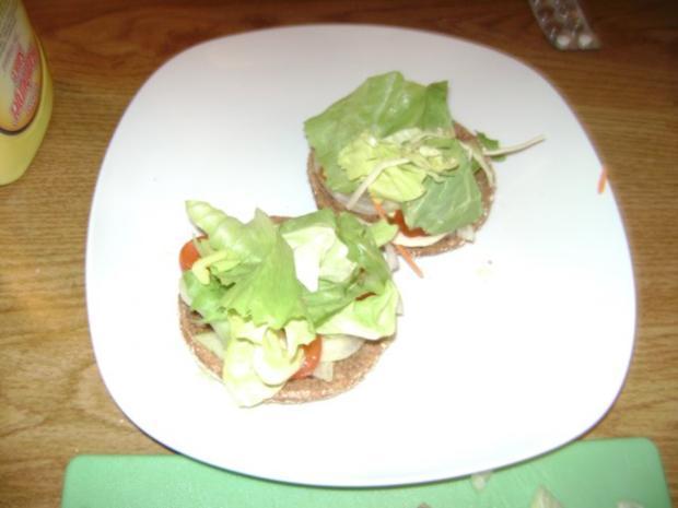 Dinkel Grünkern -  Burger - Rezept - Bild Nr. 5