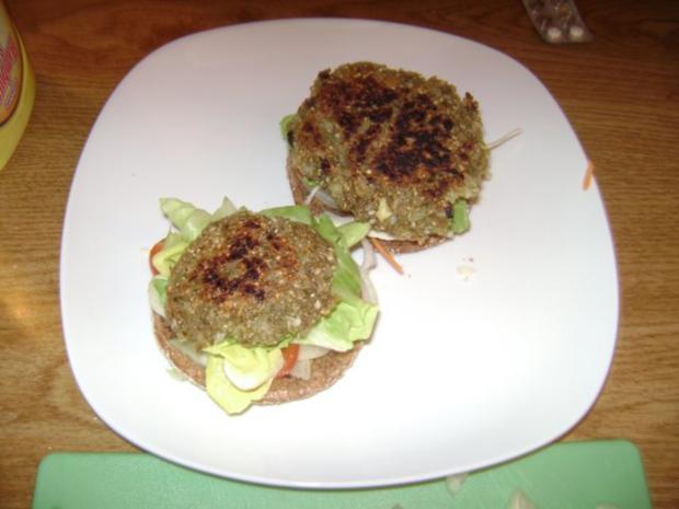 Dinkel Grünkern -  Burger - Rezept - Bild Nr. 6