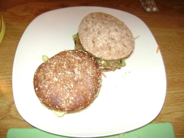 Dinkel Grünkern -  Burger - Rezept - Bild Nr. 7