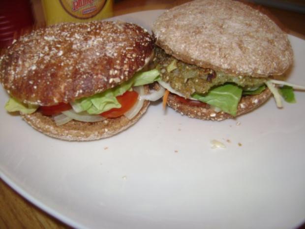 Dinkel Grünkern -  Burger - Rezept - Bild Nr. 8