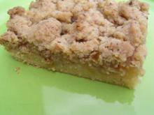 Apfelkuchen-Streusel-Kuchen - Rezept