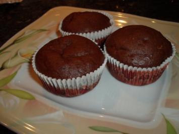 Bananen-Schoko-Buttermilch-Muffins - Rezept