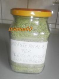 Kräutersalz für Fleisch, Fisch und Geflügel - Rezept