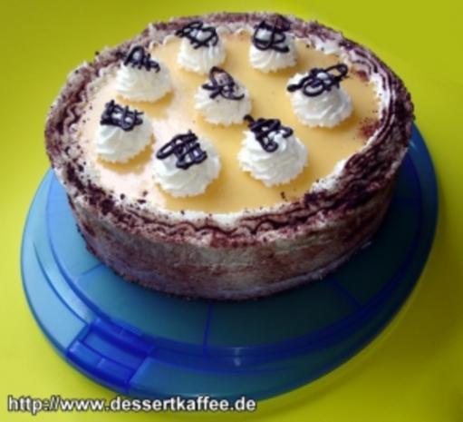 Eierlikör Kirsch Torte - Rezept