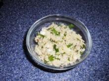 Salat:Cous-Cous mit Feta und Rucola - Rezept