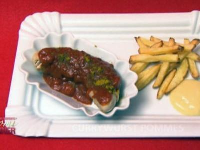 Currywurst Pommes (Joy Abiola und Patrick Müller) - Rezept