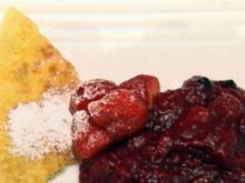 Schaumomelette auf Roter Grütze (Joy Abiola und Patrick Müller) - Rezept