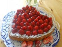 Verführerisches Erdbeer-Kokos-Herz - Rezept