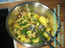 Salat – Manfred's Rucola-Kartoffelsalat - Rezept