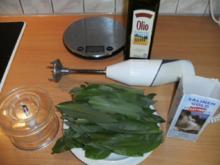 Konservieren: Bärlauch in Öl - Rezept
