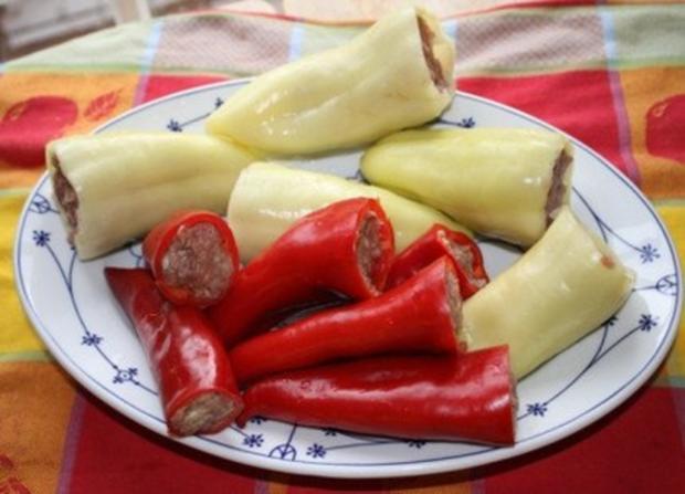 Babuschka's Töltött Paprika - Rezept