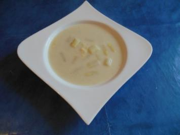 Suppe: Spargelsuppe - Rezept