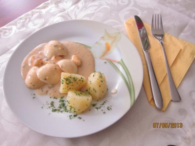 Eier mit Senfsoße - Rezept